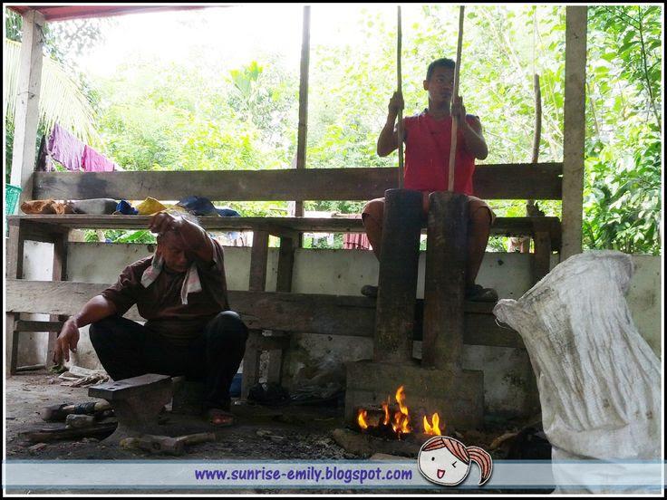 Bajau Parang Making