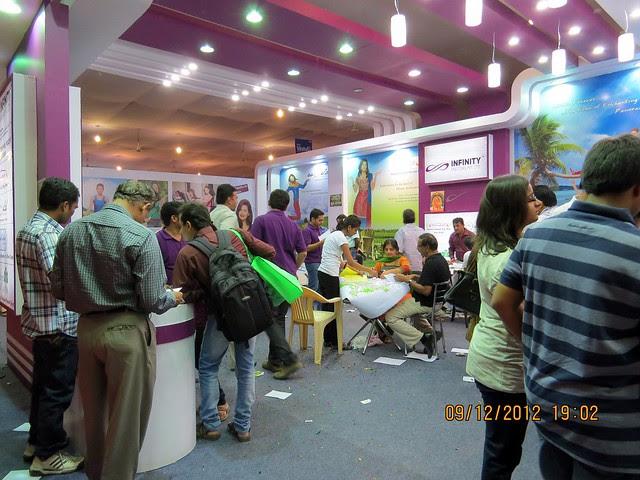 Pune Property Exhibition - Sakal Vastu - Property Expo - December 2012 - 6