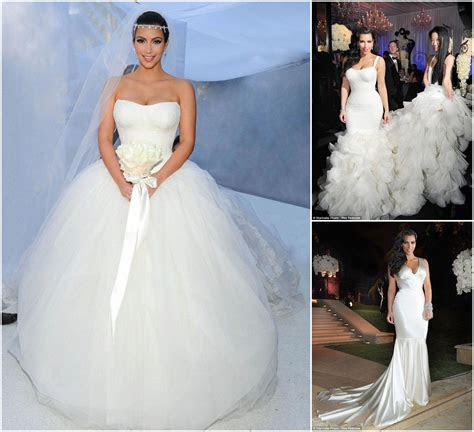 Kim Kardashian Wedding Dress Vera Wang Price