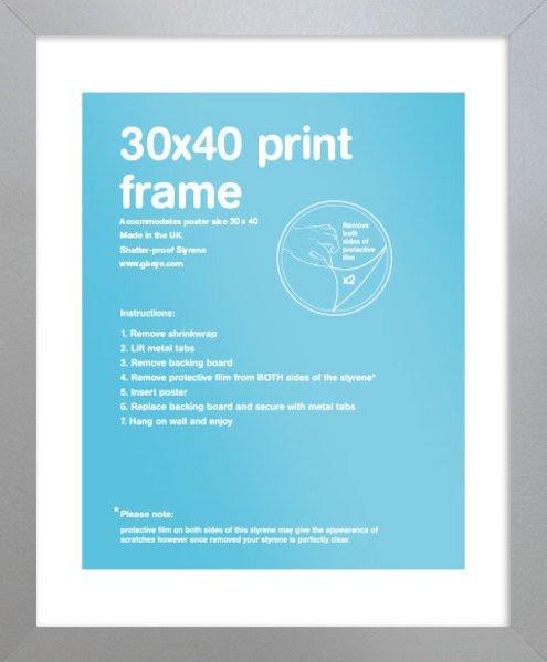 Eton Silver Frame