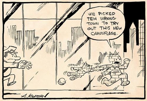 Laugh-Out-Loud Cats #2073 by Ape Lad