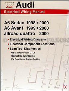 1998 2000 Audi A6 Wiring Diagram Manual