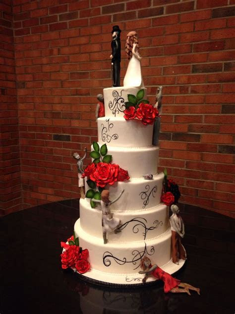 Zombie Wedding Cake   CakeCentral.com