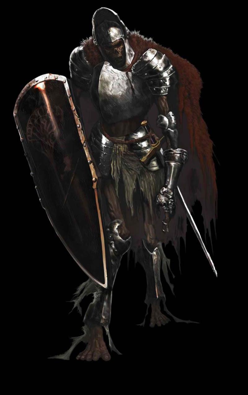 Dark Souls soldat carcasse