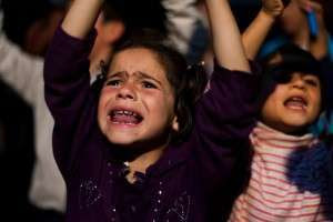 Protestat ne Siri foto Vedat Xhymshiti