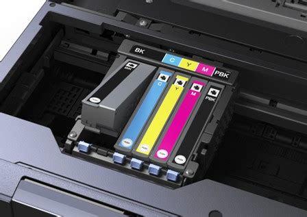 epson printer  printing  changing ink  log
