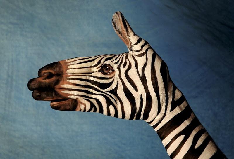 El Boyama Sanatı Ile Yapılmış Hayvan Figürlerine Inanamayacaksınız
