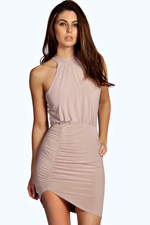 Large sizes online bodycon dress on skinny girl t shirt papaya