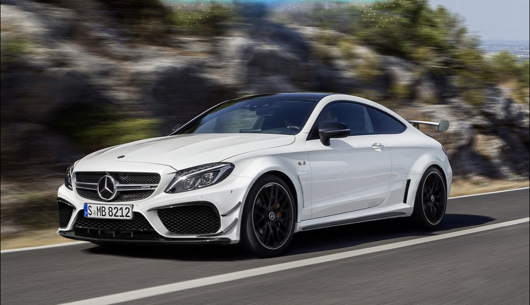 New Mercedes-AMG C63 Coupe Black Series Looks Just About ...