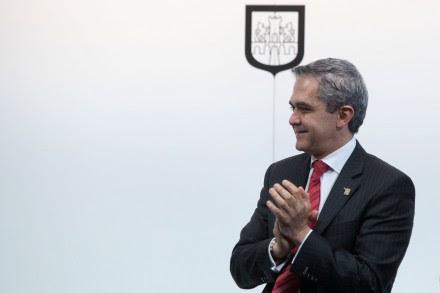 El jefe de gobierno del D.F., Miguel Ángel Mancera. Foto: Octavio Gómez