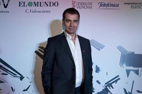 Toni Cantó en la gala Innovadores de EL MUNDO en Valencia | B. Pajares