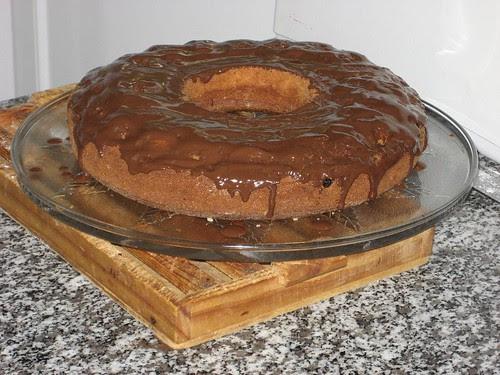 BIZCOCHO DE MERMELADA Y CHOCOLATE