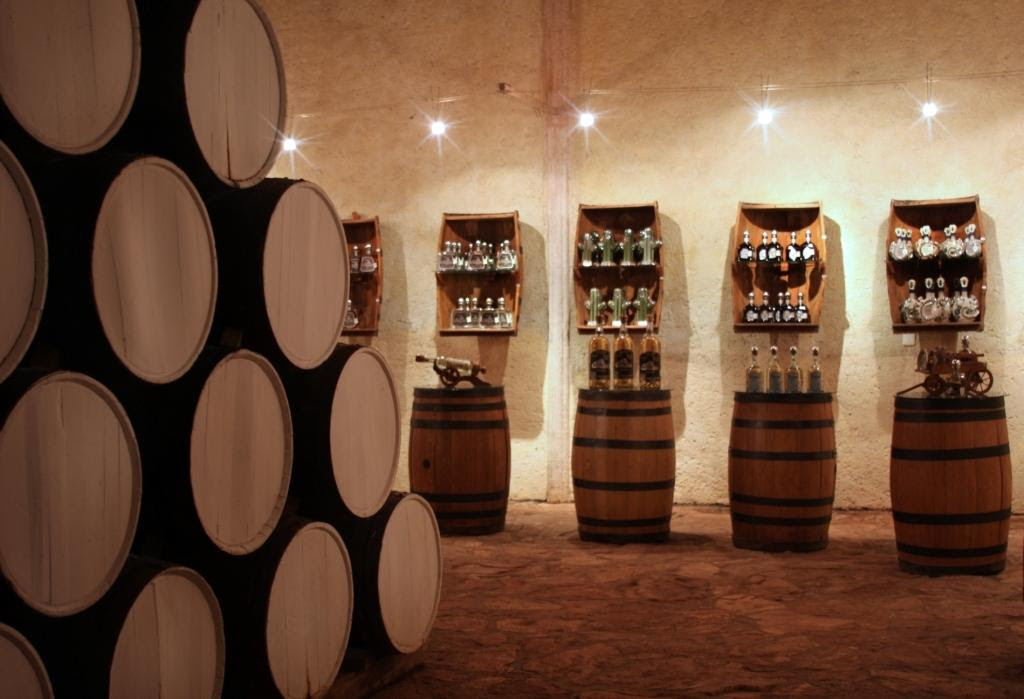 The hotel is situated right next to a distillery. Credit: Matices Hotel de Barrica/Booking.com