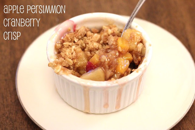 Apple Persimmon Cran Crisp