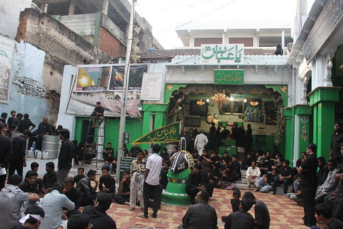 I Begin My Series on Ashura Bargah 2012 by firoze shakir photographerno1