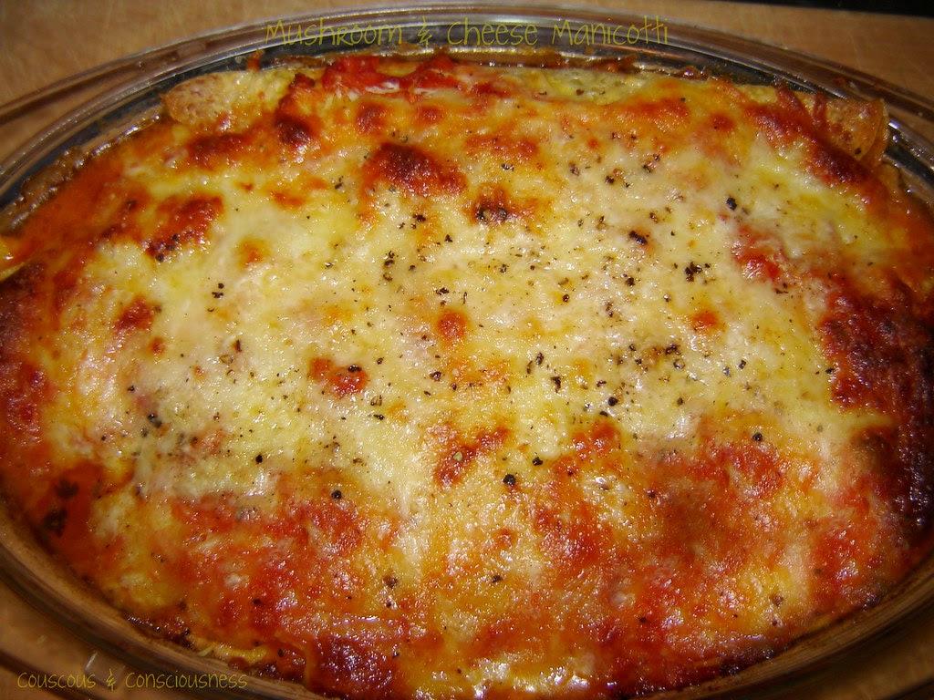 Mushroom & Cheese Manicotti 3, edited