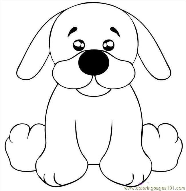 Draw A Black Lab Puppy Step 5 Coloring Page - Free Dog ...