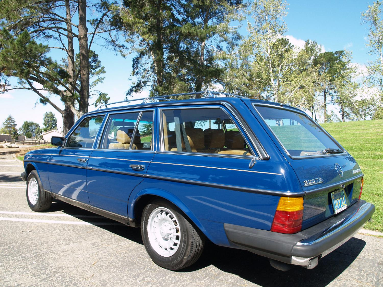 1983 300TD 71K miles. Best W123 wagon for sale in the USA ...