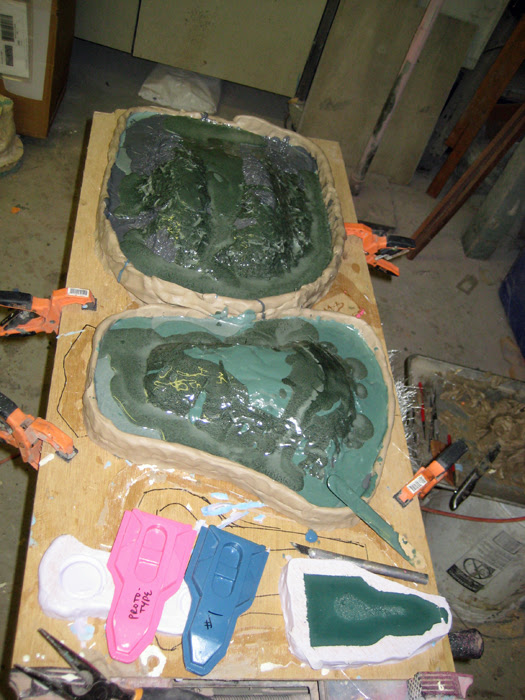 Mothermolds poured