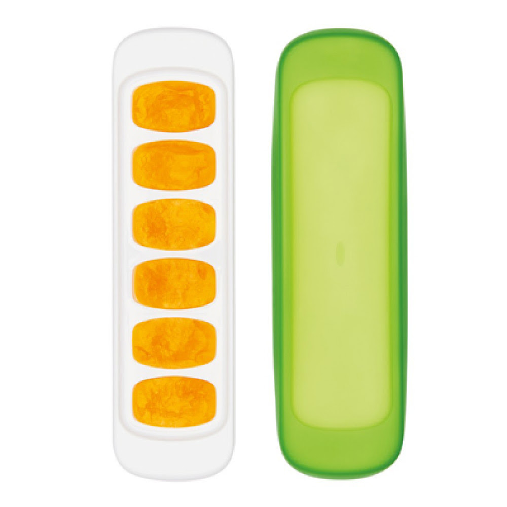 OXO tot Baby Food Freezer Tray with Silicone Lid (2 pack ...