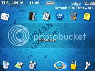 urban Theme đẹp dành cho BlackBerry 83xx và 87xx