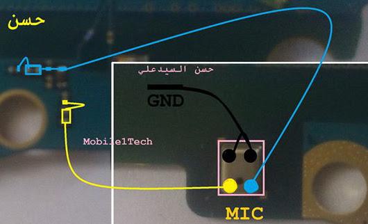 Samsung Galaxy J5  Mic Solution Jumper Problem Ways Microphone