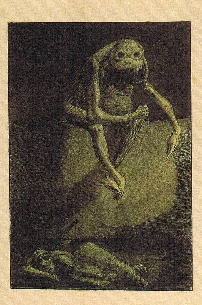 Alfred Kubin - Thou Shalt not Kill, 1900-01