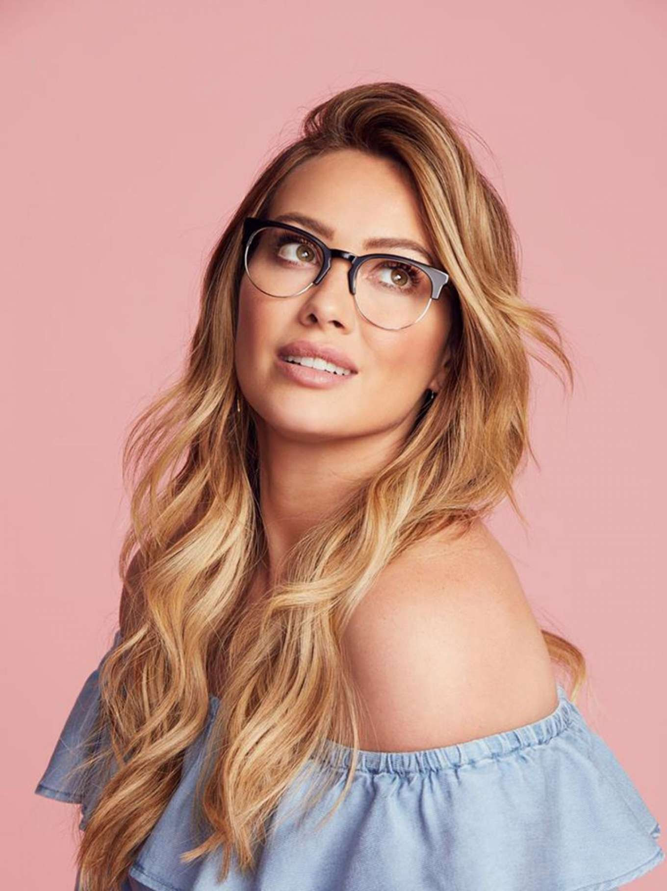 Hilary Duff – Hilary Duff Collection With GlassesUSA.com 2018