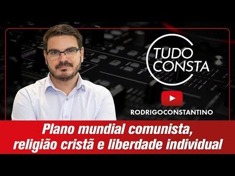 Plano mundial comunista contra cristianismo e liberdade individual