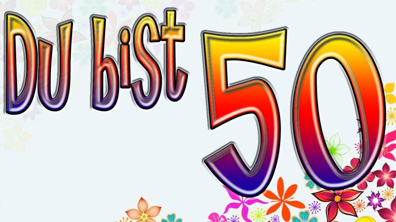 einlage zum 50 geburtstag