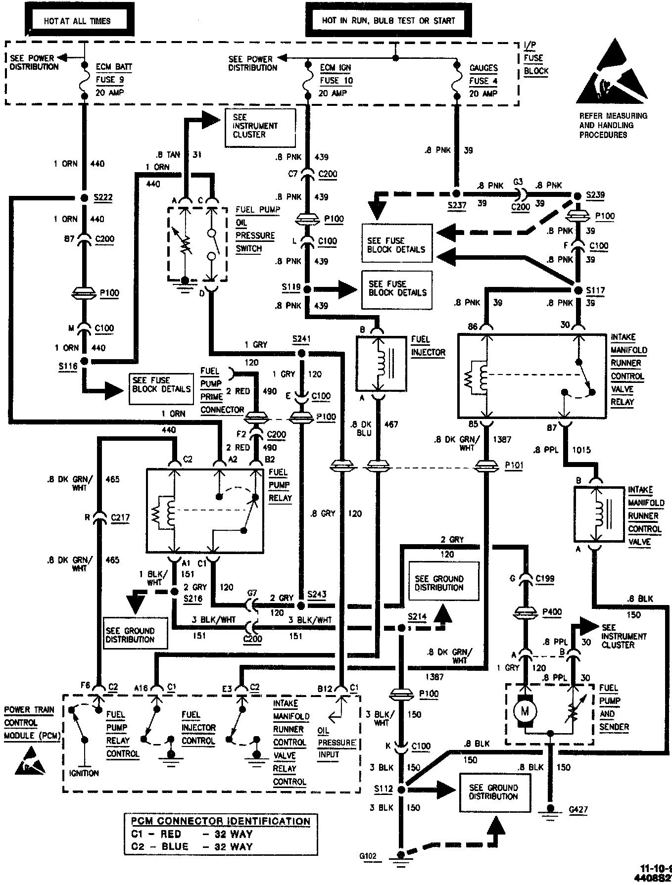 610d 1992 S10 Lighting Wiring Diagram Wiring Resources