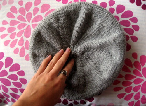 Hat #7, or my first beret