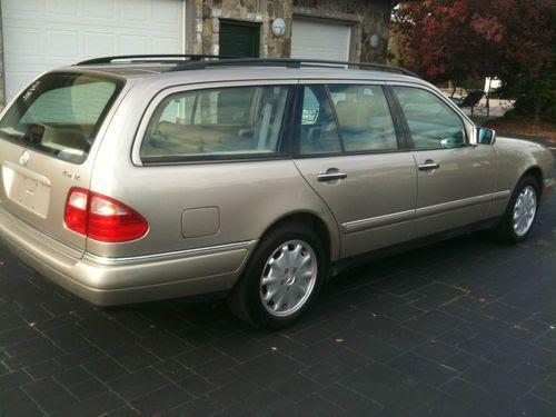 Purchase used 1999 Mercedes Benz E320 Wagon 4Matic Super ...
