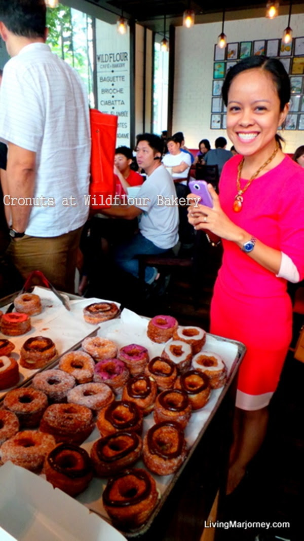 Cronuts at Wildflour Bakery And Cafe