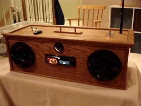 car audio homemade boombox youtube