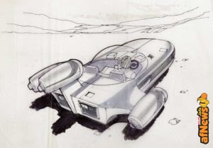 Star Wars: storyboard originale