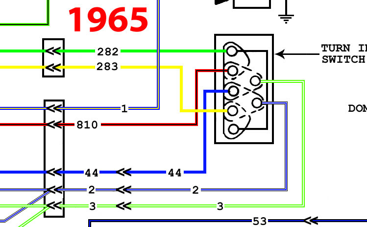 Ford Turn Signal Switch Wiring - Wiring Diagram