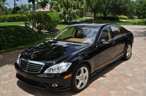Buy used 2008 Mercedes s550 18,432 Miles!! Black w ...