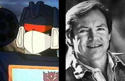 Michael Bay is trying to get Frank Welker to do the voice of Soundwave in TRANSFORMERS: REVENGE OF THE FALLEN.