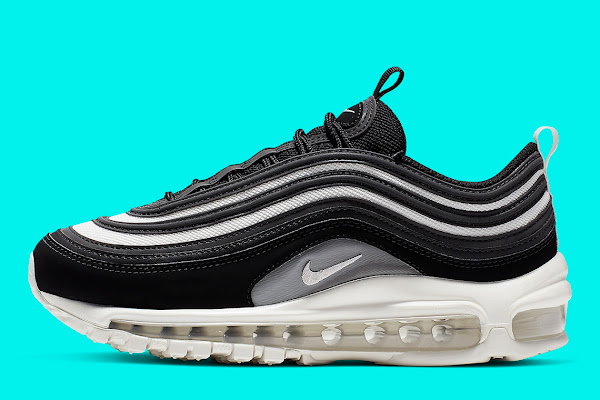 866a6d7546 The Nike Air Max 97 Returns In Another Sleek Black, Grey, And White