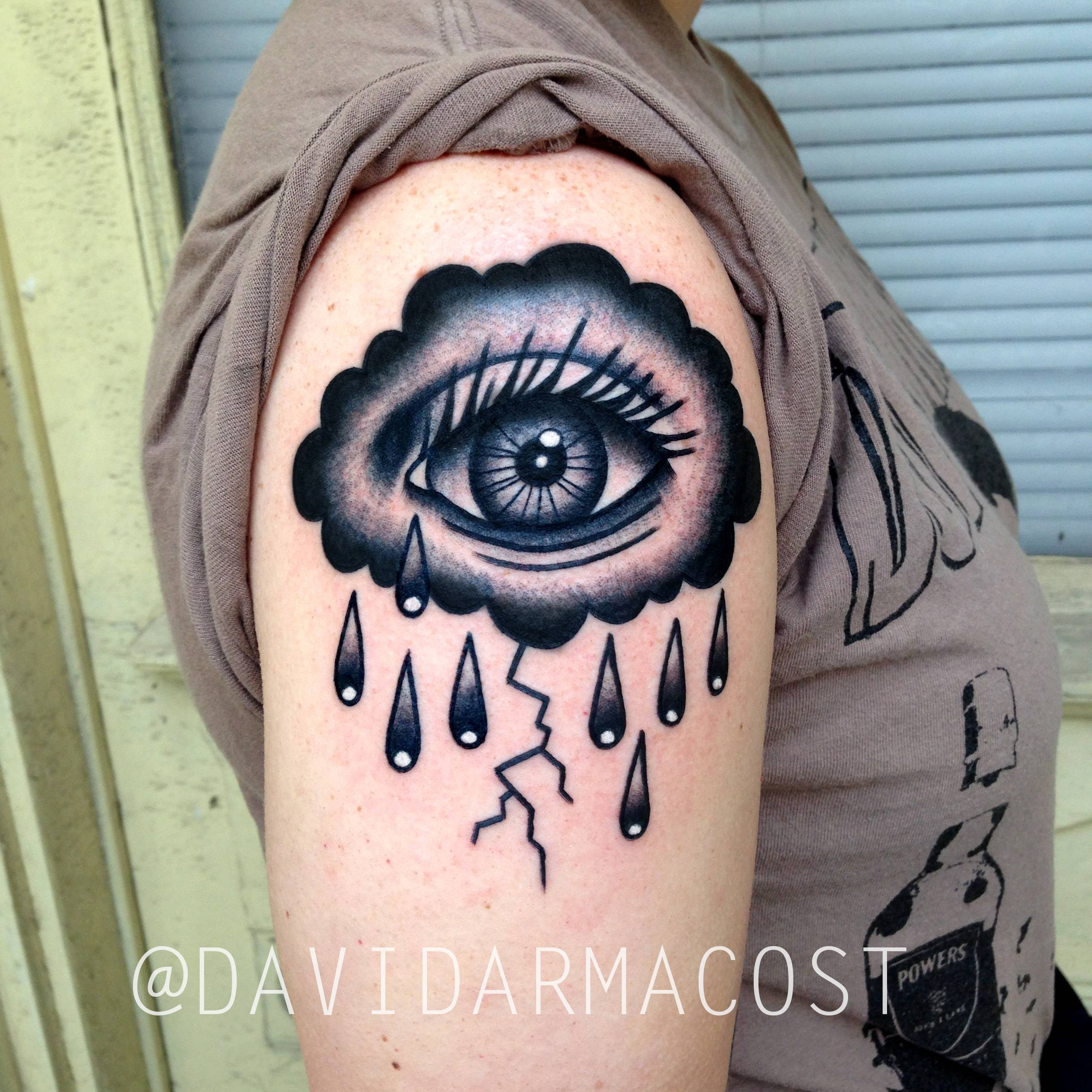 Crying Storm Cloud By David Armacost Me At Designs By Dana