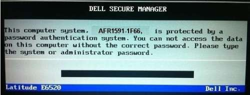 unlock dell bios 1f5a