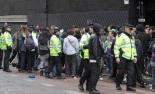 Police had to let the rave go ahead (PA)
