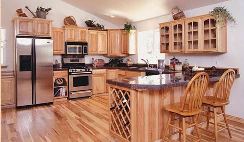 Unfinished Oak Kitchen Cabinet Designs - Rilane