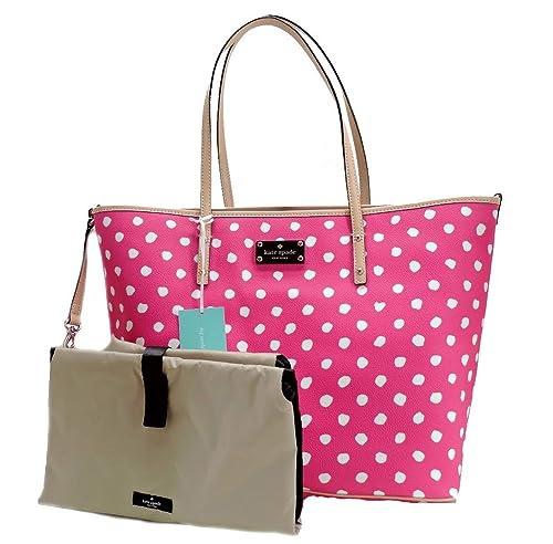 Kate Spade New York Bondi Road Harmony Baby Bag (Pink/Cream)