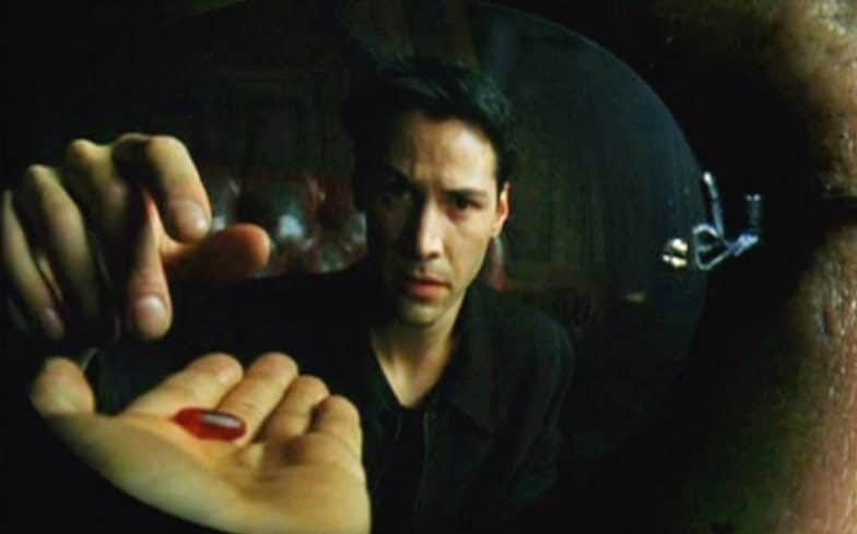 Neo chooses the Red Pill in The Matrix