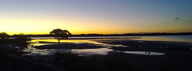 Pine River Sunset