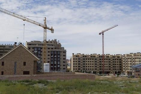 Promoción de viviendas de obra nueva en el PAU de Vallecas. | Gonzalo Arroyo