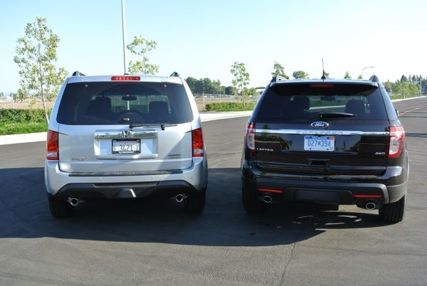 KBB Short Answer: Honda Pilot or Ford Explorer?