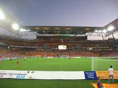 Moments before kickoff